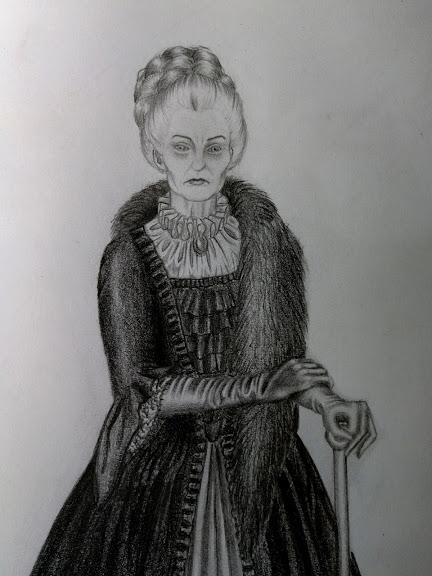 Lady Vyrrington as an older woman